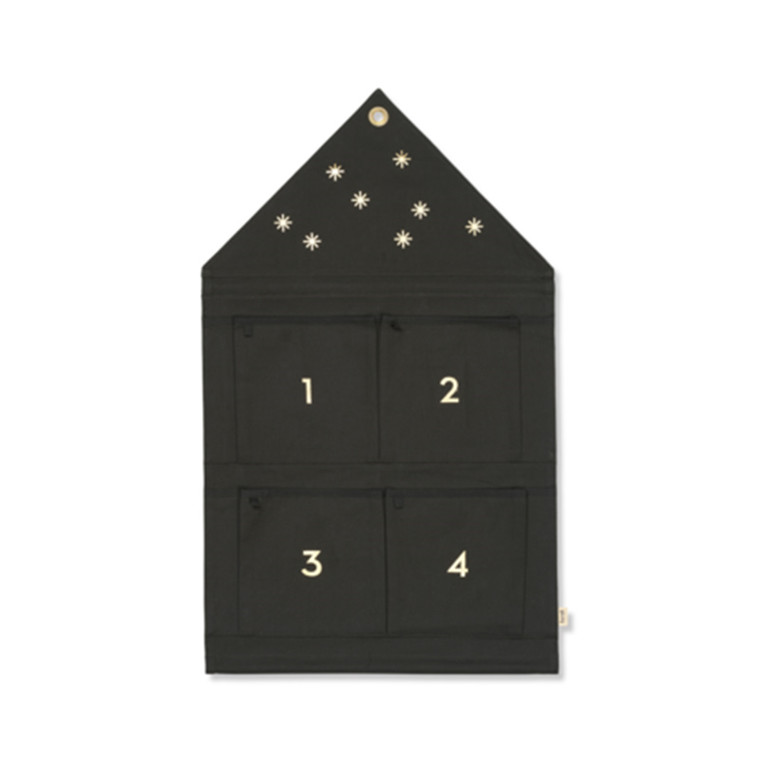 Ferm Living Star Advent Calendar Dark Green