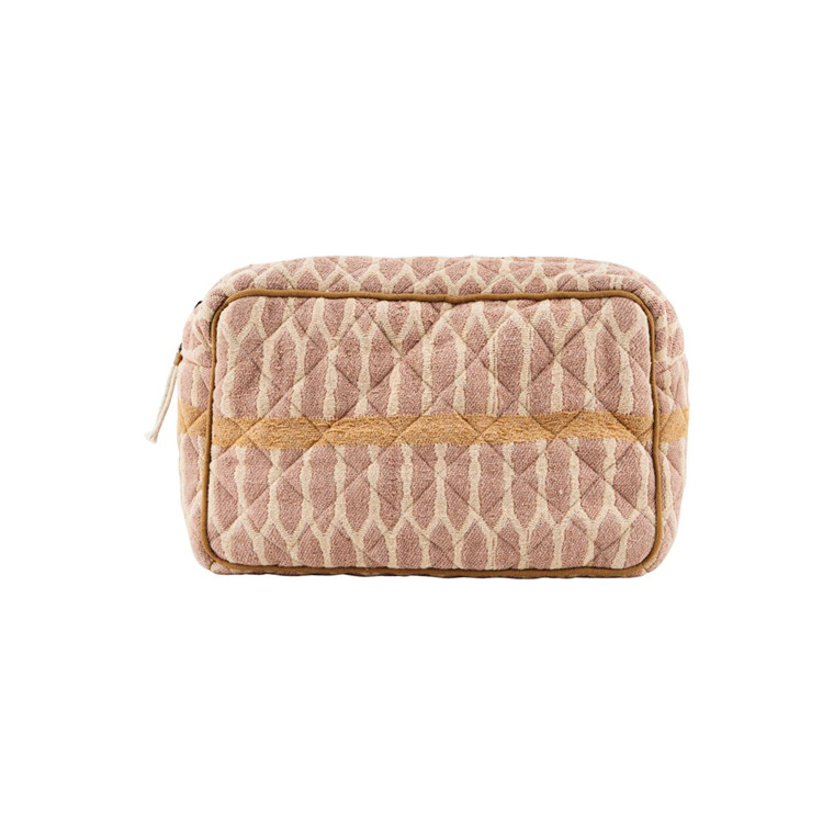 Meraki Makeup Bag Mustard/Terracotta/Sand