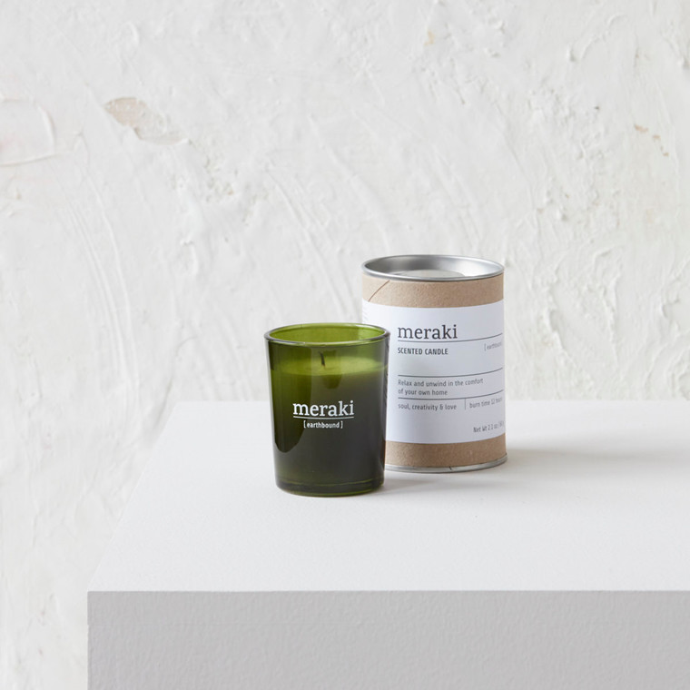 Meraki Scented Candle Earthbound Small