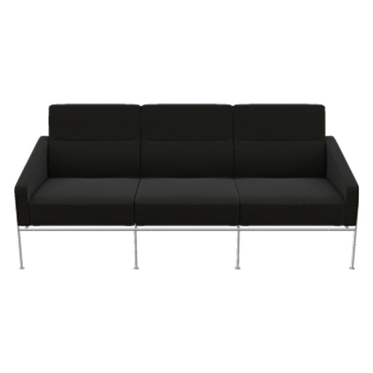 Fritz Hansen 3303 Sofa 3-Pers Læder