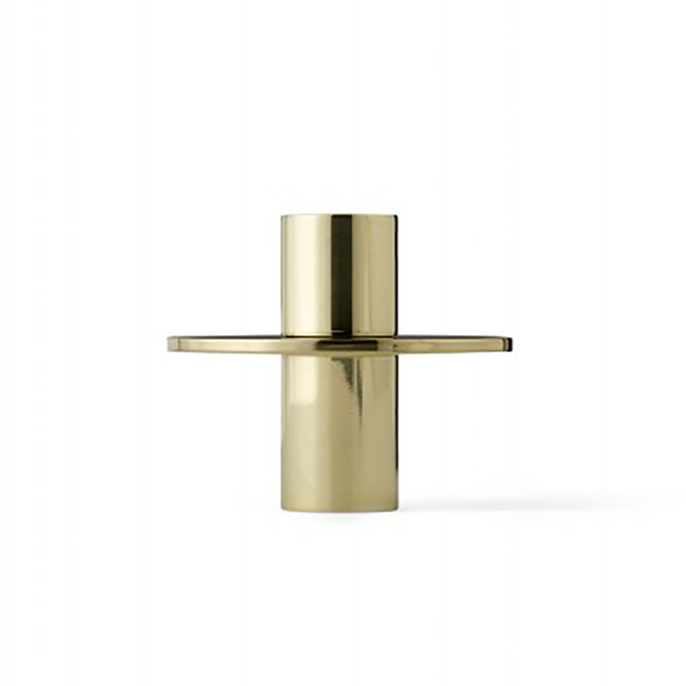 Menu Antipode Candle Holder Bronzed Brass