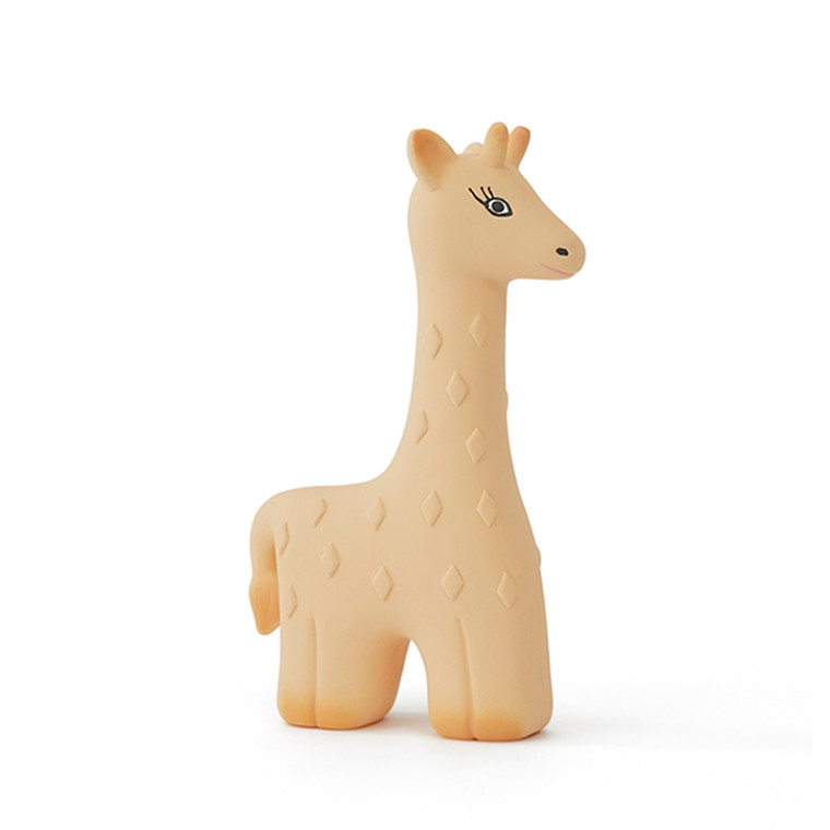 OYOY Noah Giraffe Baby Teether Yellow