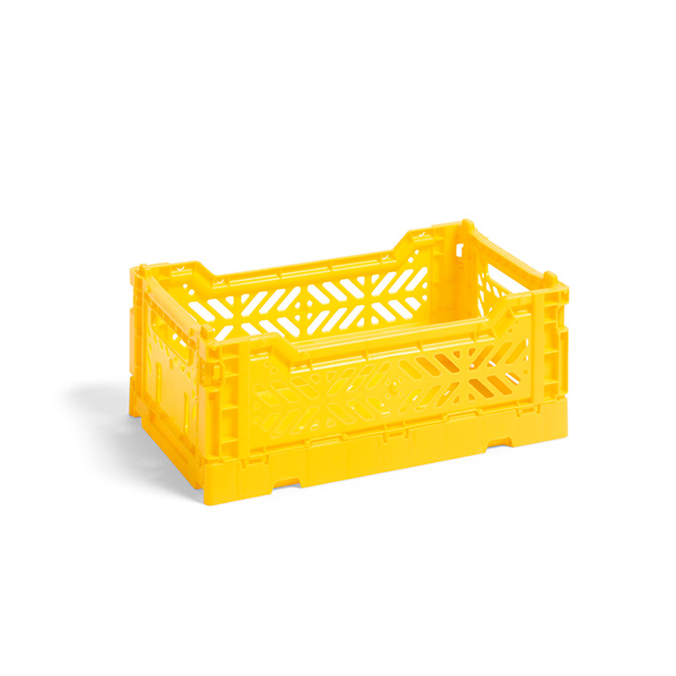 HAY Colour Crate S Yellow
