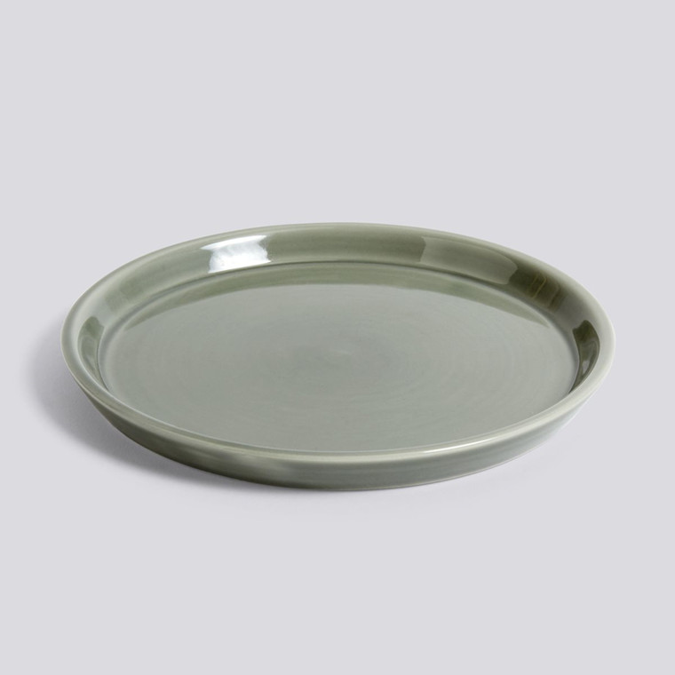 HAY Botanical Family Saucer L Dusty Green