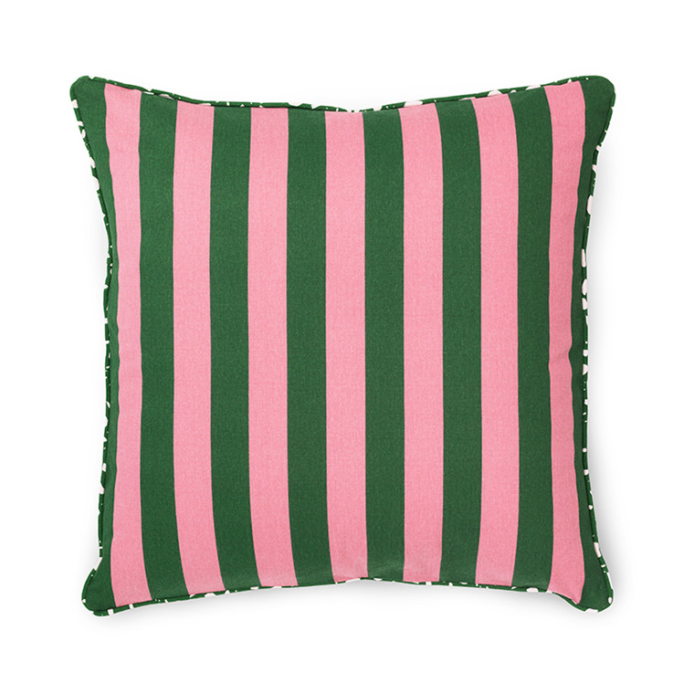 Normann Cph Posh Cushion Keep It Simple Dark Rose/Dark Green