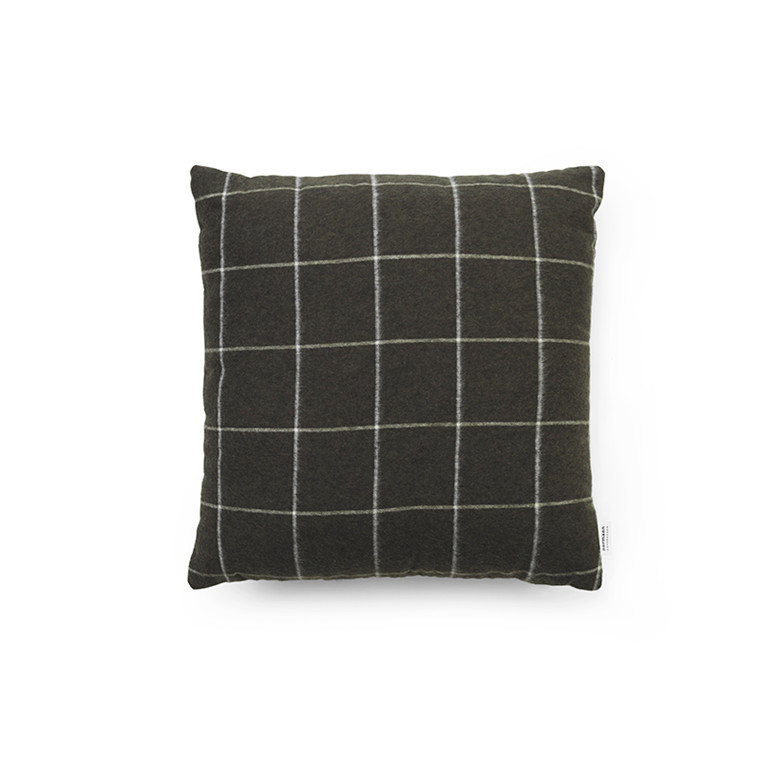 Normann Cph Flair Cushion Black Grid