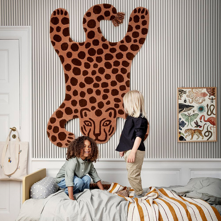 Ferm Living Safari Tufted Rug Leopard