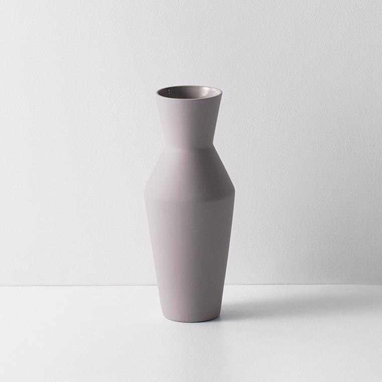 Ferm living Sculpt Vase Corset Grey