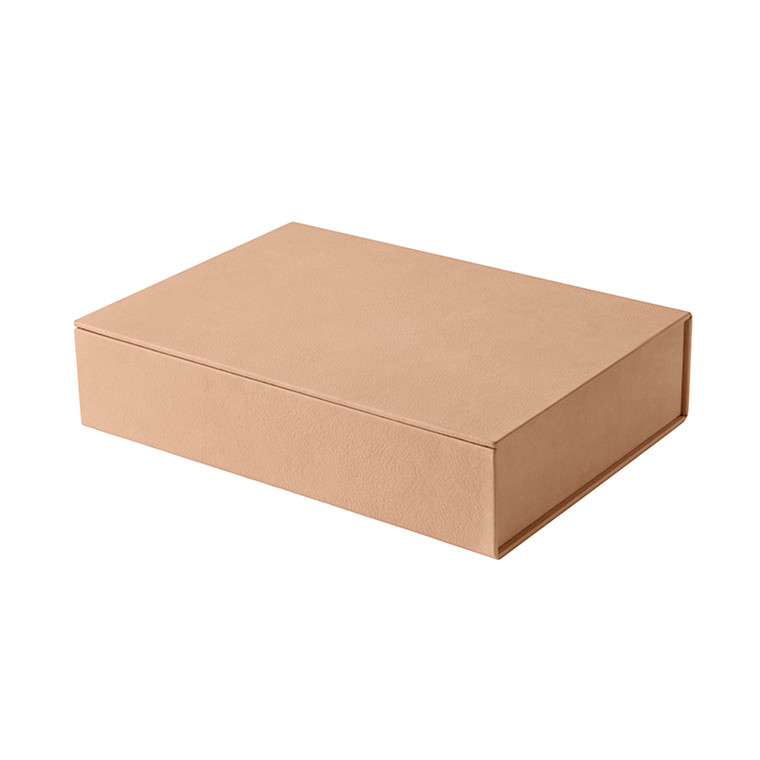 Fritz Hansen Leather Box Large Natur