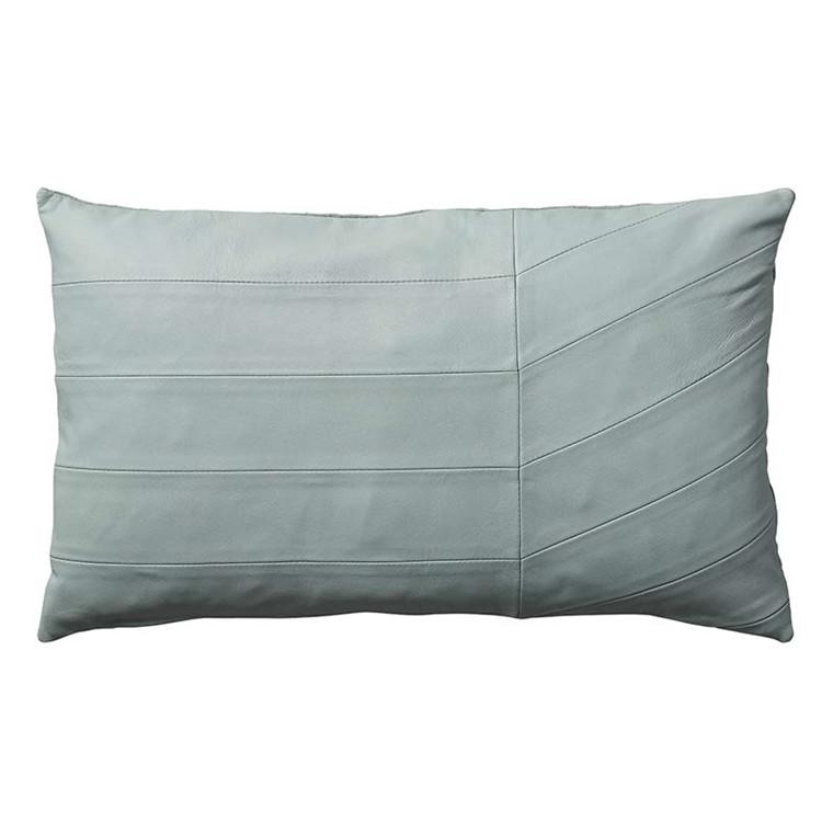 AYTM Coria Leather Cushion Pale Mint