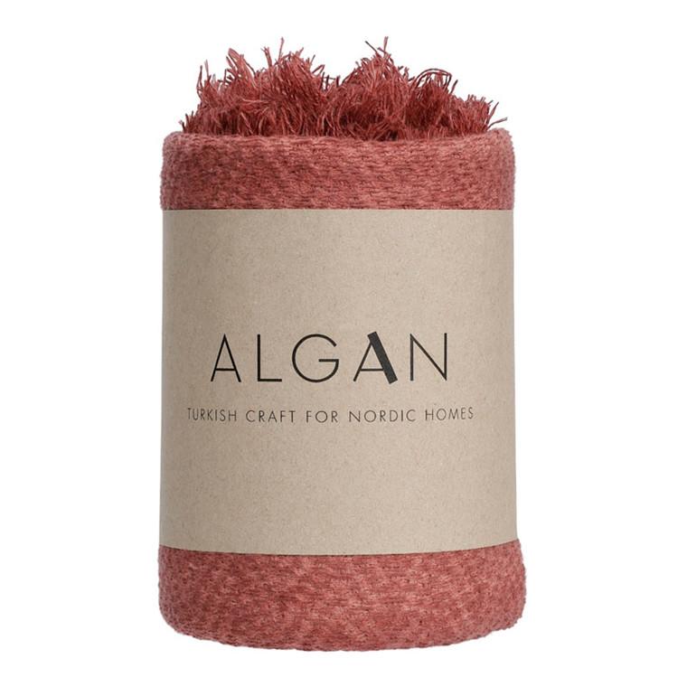 Algan Dolu Gæstehåndklæde Bordeaux