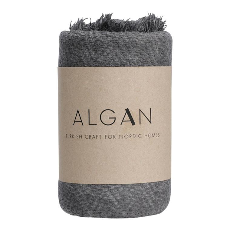 Algan Dolu Gæstehåndklæde Koks