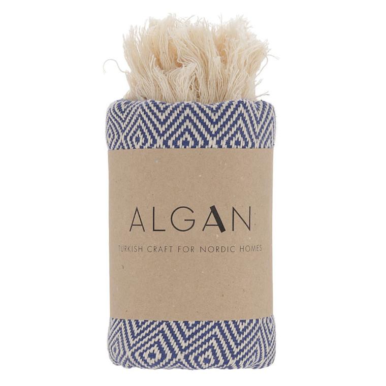 Algan Elmas Gæstehåndklæde XS Navy