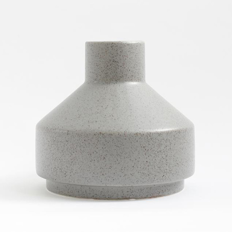 Ania EMMA Vase Light Grey Dots