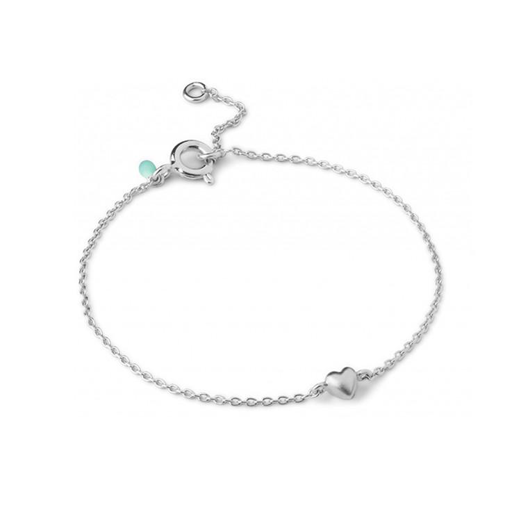 Enamel Copenhagen Little Love Bracelet Silver