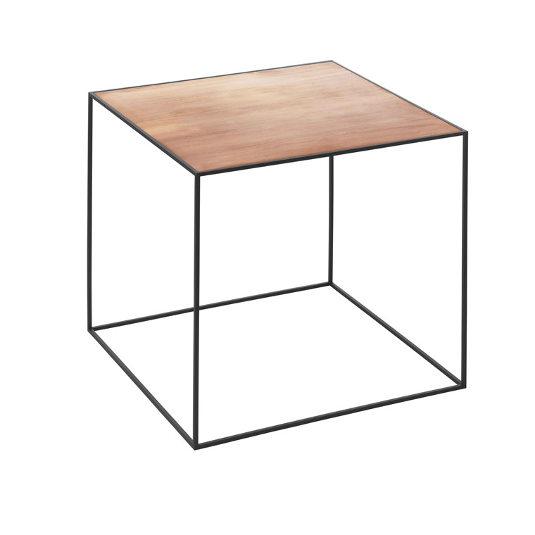 By Lassen Twin Table 42 Sort/Kobber