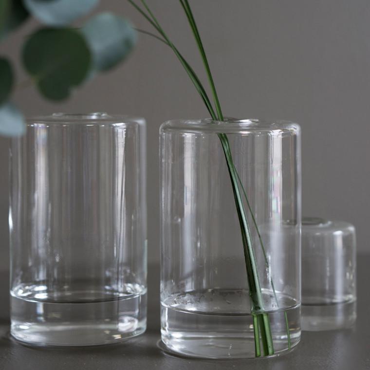 DBKD Pipe Vase Large Clear