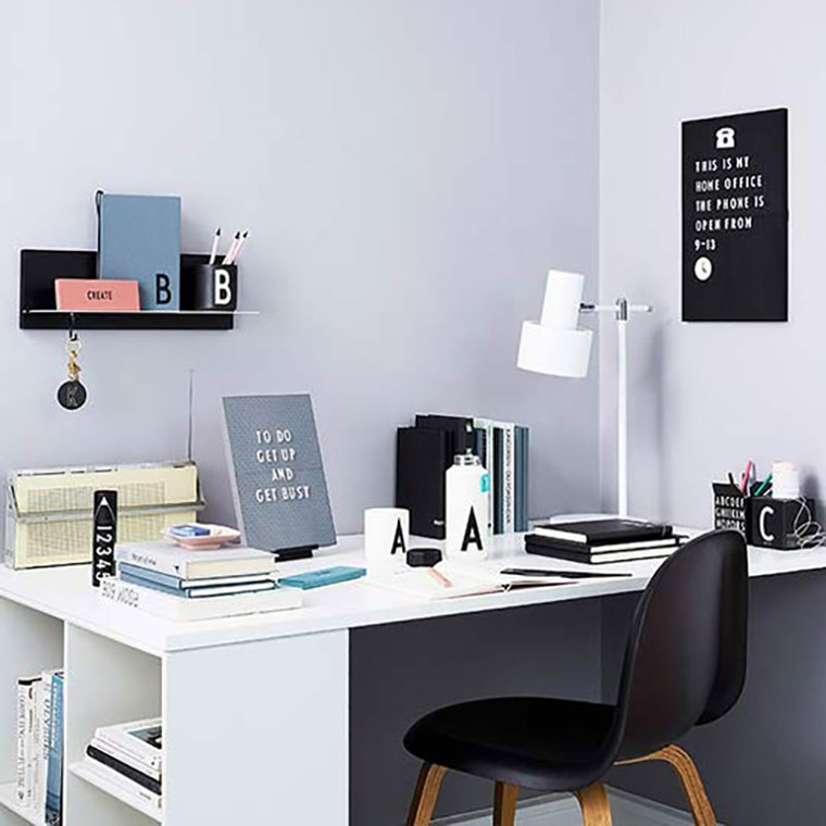 Design Letters Office Icons For Message Board White