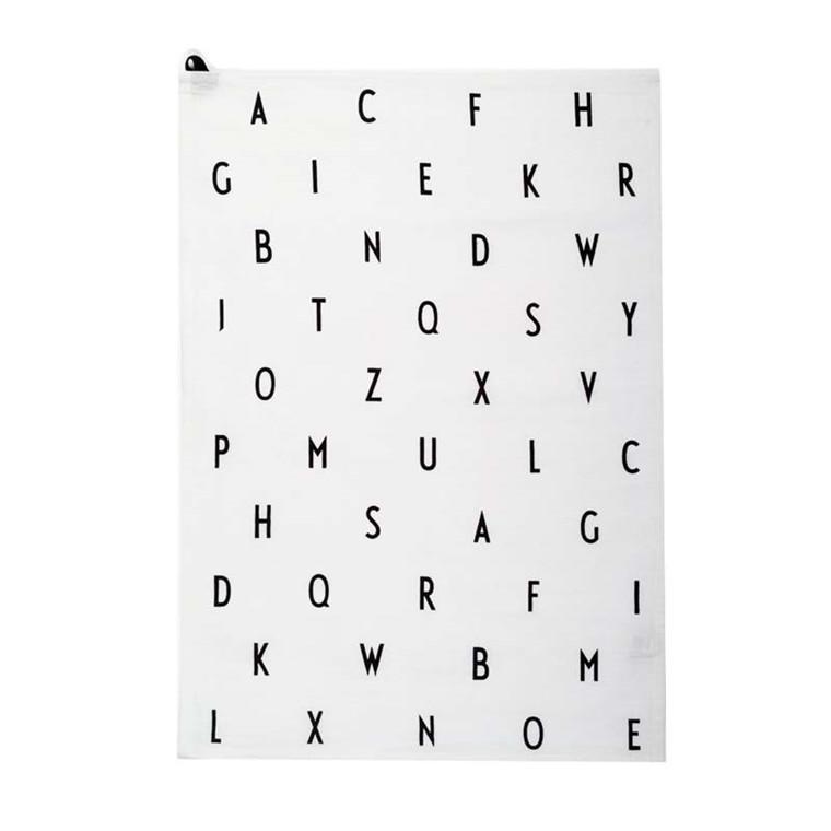 Design Letters AJ Vintage ABC Tea towel