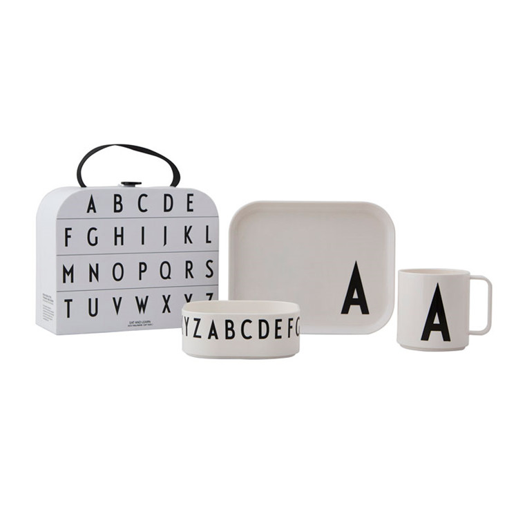 Design Letters Classics in a Suitcase Gift Box