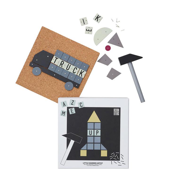 Design Letters Little Hammer Artist Rocket