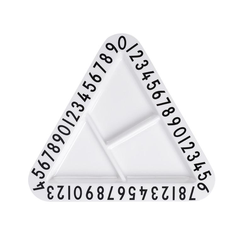 Design Letters Trekantet Tallerken Melamin
