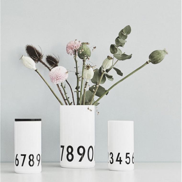 Design Letters 0-9 Vase