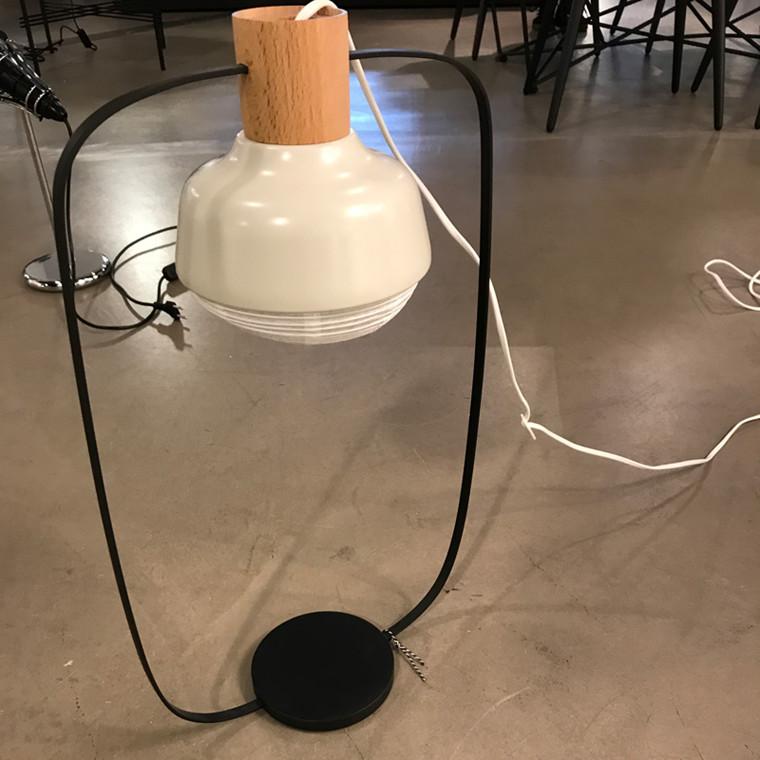 Dyberg Larsen Rispapir Bordlampe Høj Udstillingsmodel