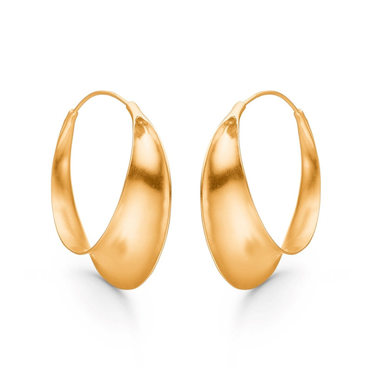 Enamel Copenhagen Magnificent Earrings Gold-Plated