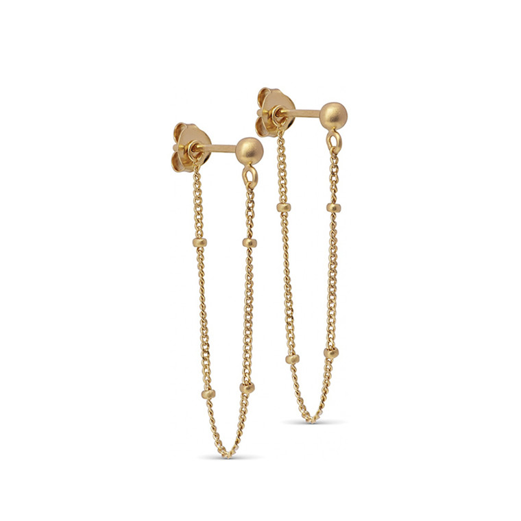 Enamel Copenhagen Bea Earrings Gold-Plated