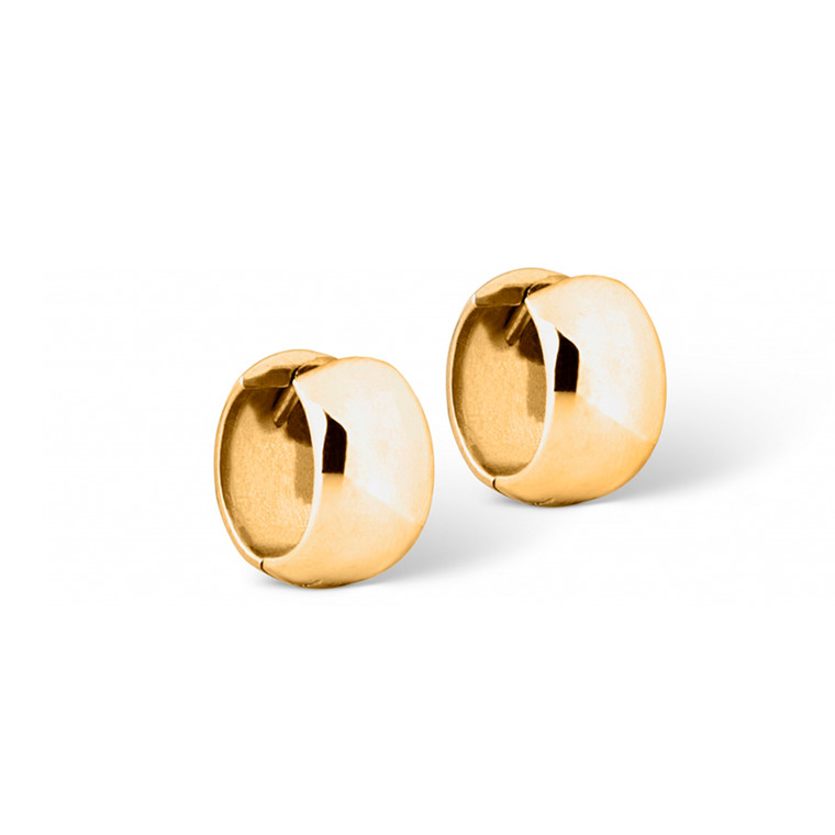 Enamel Copenhagen Ellis Hoops Gold-Plated