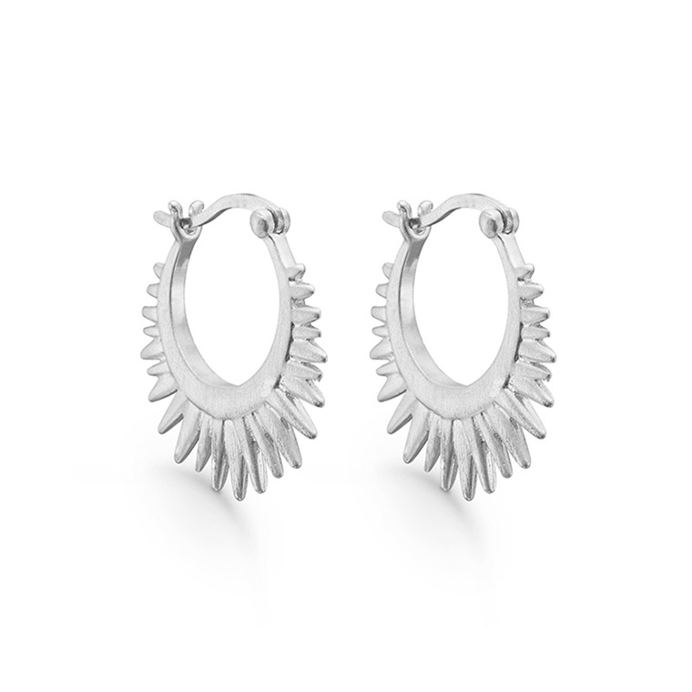 Enamel Copenhagen Sunrays Earrings Silver