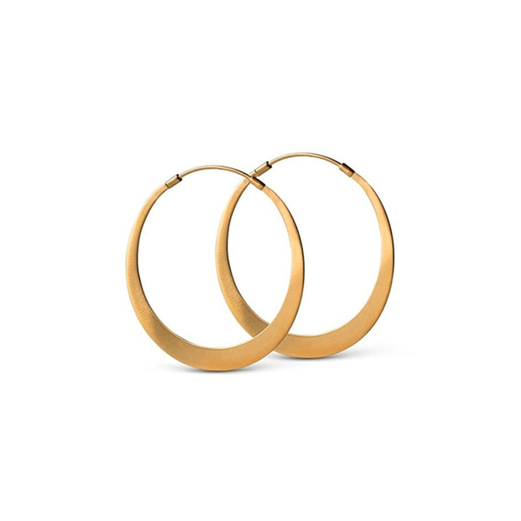 Enamel Copenhagen Simplicity Earrings Gold-Plated