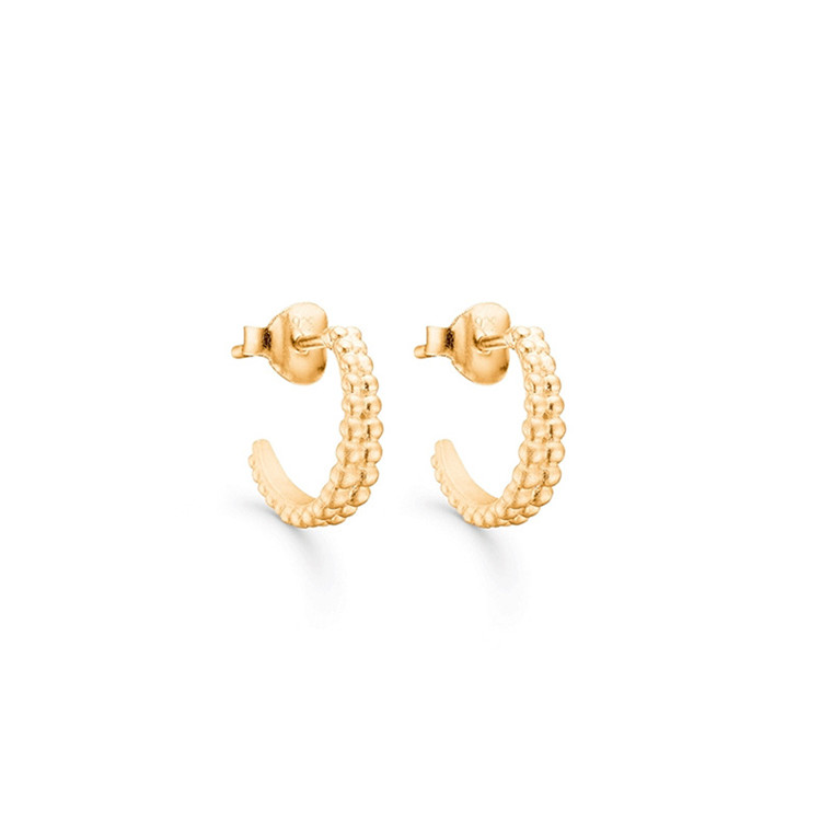 Enamel Copenhagen Aiya Earrings Gold-Plated