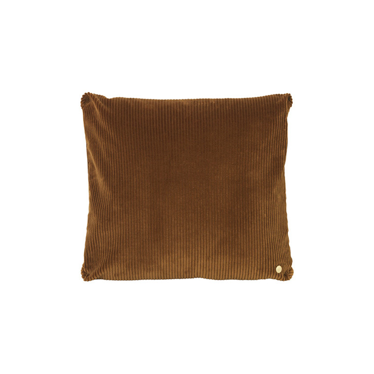 Ferm Living Corduroy Cushion Golden Olive