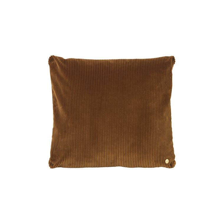 Ferm Living Corduroy Cushion Golden Olive