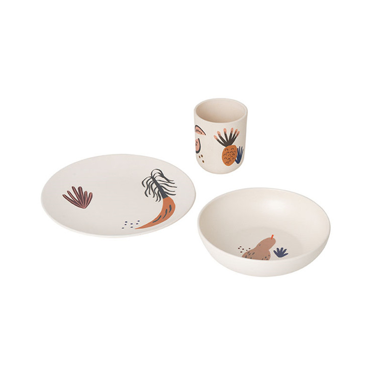 Ferm Living Fruiticana Bamboo Dinner Set