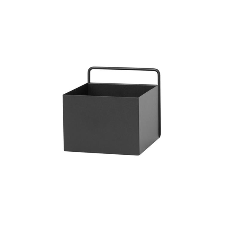 Ferm Living Wall Box Square Black