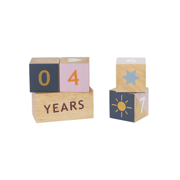 Ferm Living Wooden Age Blocks