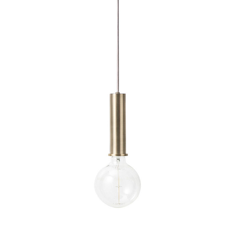 Ferm Living Socket Pendant High Messing