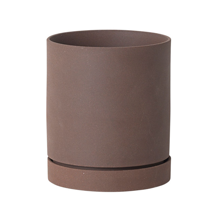 Ferm Living Sekki Pot Rust Medium