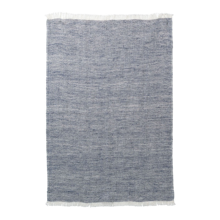 Ferm Living Blend Kitchen Towel Blue