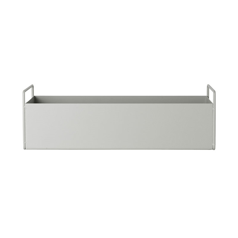 Ferm Living Plant Box Light Grey