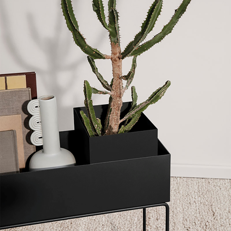 Ferm Living Plant Box Pot Black