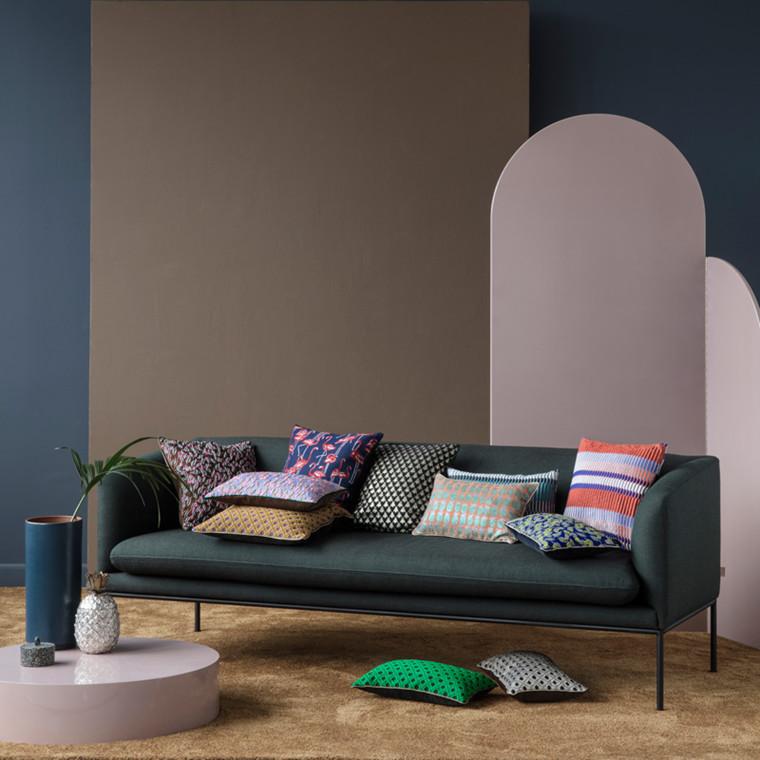 Ferm Living Salon Cushion Mosaic Green
