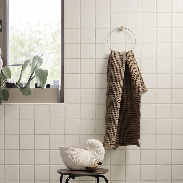 Ferm Living Towel Hanger Chrome