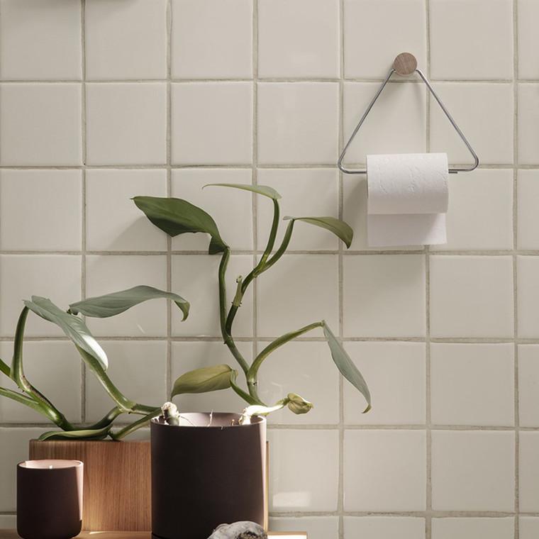 Ferm Living Toilet Paper Holder Chrome