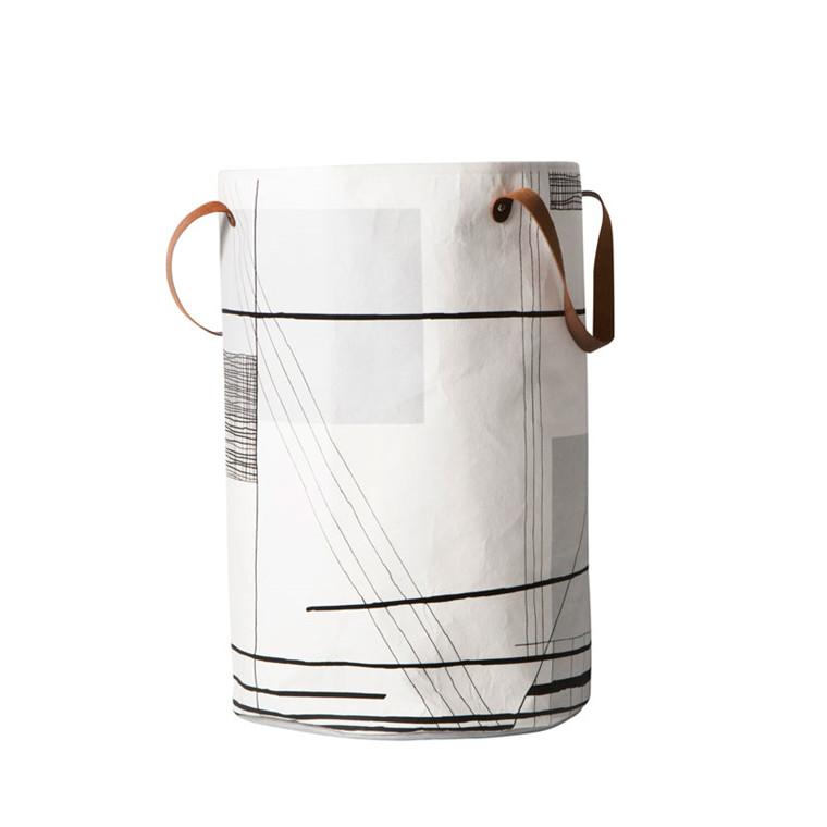 Ferm Living Trace Vasketøjskurv