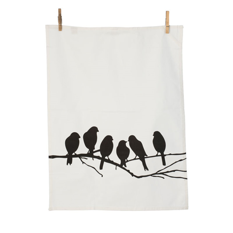 Ferm Living Lovebirds Viskestykke