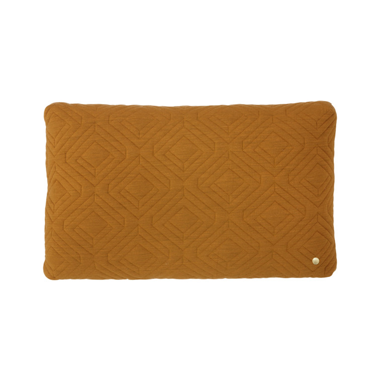 Ferm Living Quilt Cushion Curry 60 x 40